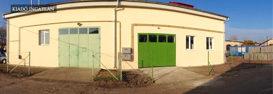 Miskolc – Tüzér úti raktárak és műhelyek